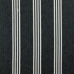 C&C/Ticking Stripes/Marlow/Charcoal
